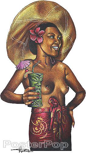 Doug Horne Hina Rapa Sticker Image