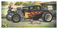 Weesner Lew Dog Signed Art Print Image