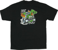 KZ07 Kozik Butt Racer T Shirt