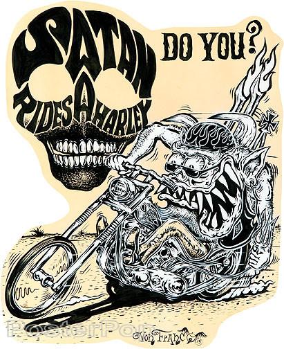 Von Franco Santa Rides Sticker
