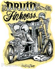 Von Franco Druid Finkmess Sticker