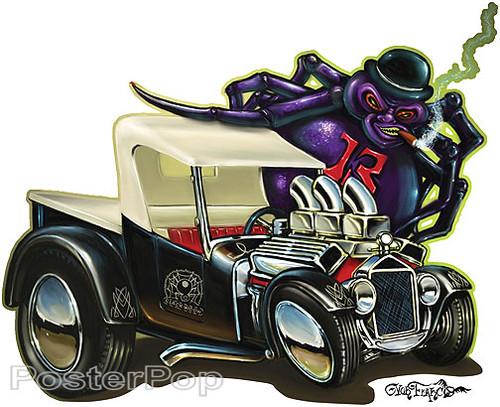 Von Franco Black Widows Sticker