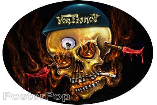 Von Franco VF Dutch Sticker