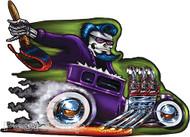 Von Franco Purple Demon Sticker