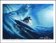 Almera Inner Space Surf Hand Signed Artist Print Image