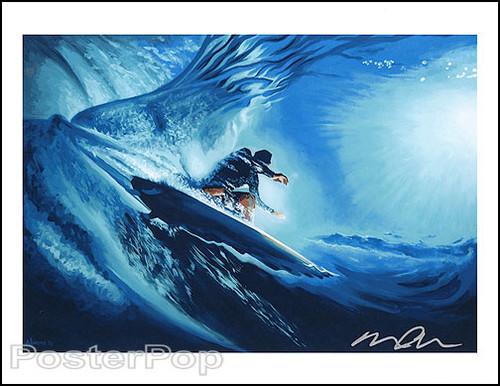 Almera Inner Space Surf Hand Signed Artist Print Image