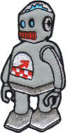 Chuckwagon Robot Patch Image