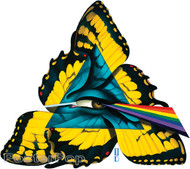 Gustavo Rimada Comfortably Numb Sticker, Pink Floyd, Dark Side of the Moon Prism, Rainbow, Butterfly, Wings, Eye