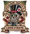 Vince Ray Sugar Skull Die Cut Poster Pop Sticker