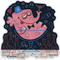 Artist Derek Yaniger Pinky Pink Elephant Martini Cocktail Booze Bottle Bubbles Fez Bowtie Swinger Swingers Shriner Shriners Drink Drinking Drunk Drunken Wasted Sloshed Pickled Liquor Alcohol Party Celebration Sticker