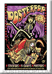 Vince Ray Poster Pop Fridge Magnet Image