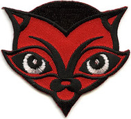 Von Spoon Devil Cat Patch Image