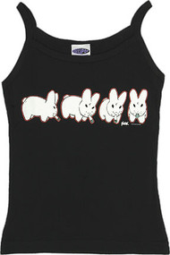 Kozik SMORKIN LABBITS Woman's Baby Doll Tee and Boy Beater Tank