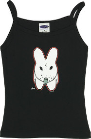 Kozik K BUNNY Woman's Baby Doll Tee and Boy Beater Tank