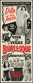Dita Von Tease, Rob Kruse VLV20 Viva Las Vegas 2017 Burlesque Silkscreen Poster