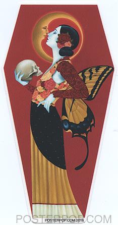 GRS64 Gustavo Rimada Strangers in the Night Sticker