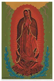 GRS61 Gustavo Rimada Red Mary Sticker