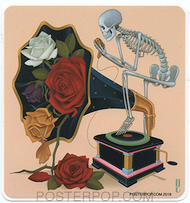GRS59 Gustavo Rimada Hopelessly Romantic Sticker
