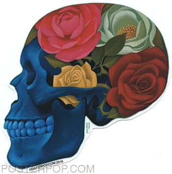 GRS58 Gustavo Rimada Forever in Flowers Sticker