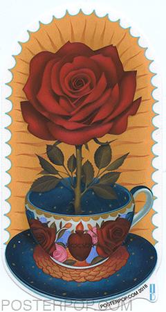 GRS57 Gustavo Rimada Cafecito Sagrado Sticker