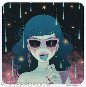 TMS60 Tara McPherson Electric Lola Sticker