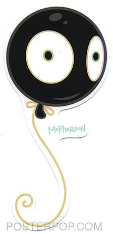 TMS63 Tara McPherson Mr Wiggles Sticker