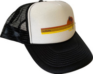 Almera California 70s Trucker Hat Black
