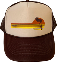 Almera California 70s Trucker Hat Brown