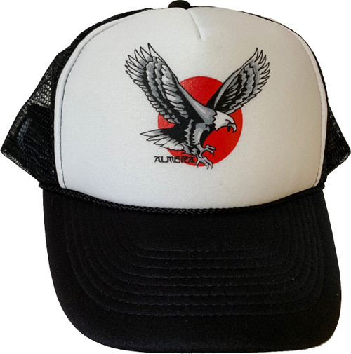 Almera Eagle Trucker Hat Black