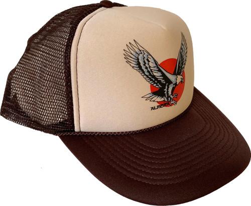 Almera Eagle Trucker Hat Brown