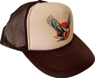 Almera Eagle Trucker Hat Brown