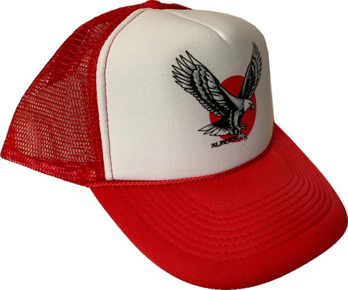 Almera Eagle Trucker Hat Red