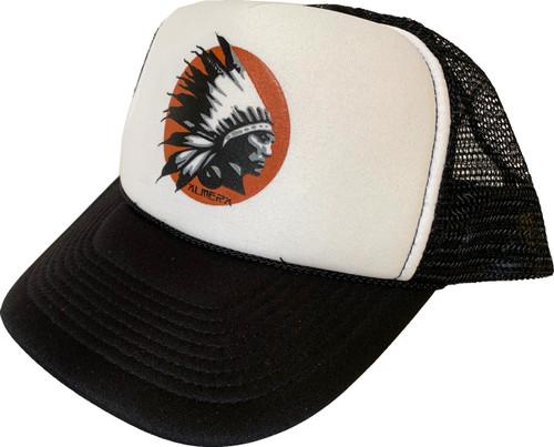 Almera Comanche Chief Trucker Hat Black