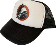 Almera Comanche Chief Trucker Hat Black