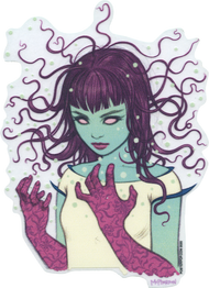 TMS65 Tara McPherson Pixie Sticker Image New