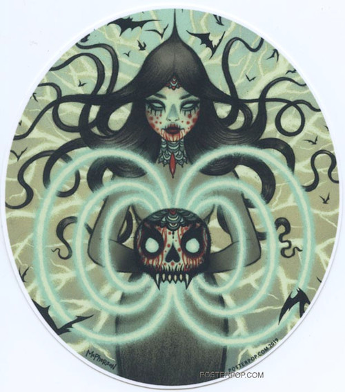 TMS66 Tara McPherson Power Witch Sticker Image