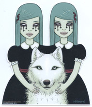 TMS67 Tara McPherson Twins Sticker Image