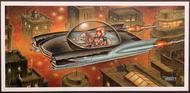 P-KWA35 Weesner Sapphire Jet Signed Art Print Image