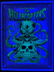 P-DDAF07 Glow in the Dark Image of the Dirty Donny Alan Forbes Joint Hellacopters 2008 Sweden Silkscreen Concert Poster
