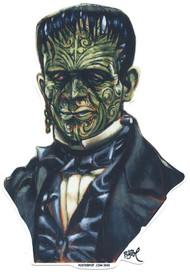 BigToe Tattooie-Stein Sticker Tattooed Frankenstein Monster Image