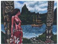 BigToe Forbidden Island Sticker Image
