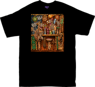 BT62 BigToe Honu Bar T Shirt, Hawaiian Sea Turtle Tiki Bar Image