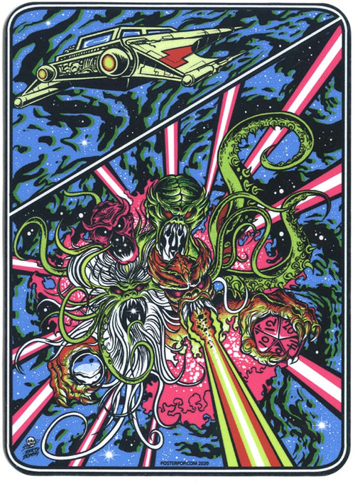 DDS86 Dirty Donny Titans of Tempest Sticker Image
