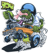 DDS80 Dirty Donny Cheese Runner Sticker Image