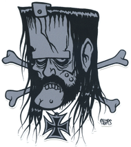 Pigors Lemmy Sticker Image Motorhead, Iron Cross
