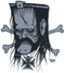 Pigors Lemmy Sticker Image Motorhead, Iron Cross