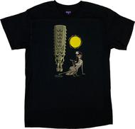 SH128 Shag Hula Tiki T-Shirt Shag, Hula Girl, Shag Tiki, Tiki Mug Image