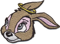 Kozik Bunny Good Patch Image