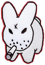 Kozik K Bunny Patch Image