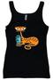 SHBB123 SHAG Tiger Cat Woman's Tank Top